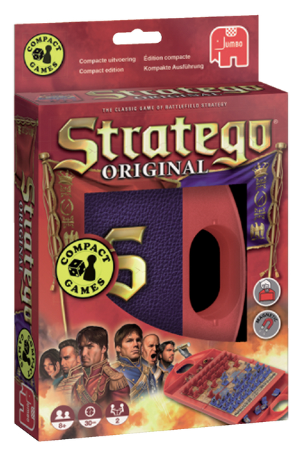 spel jumbo stratego compact travel