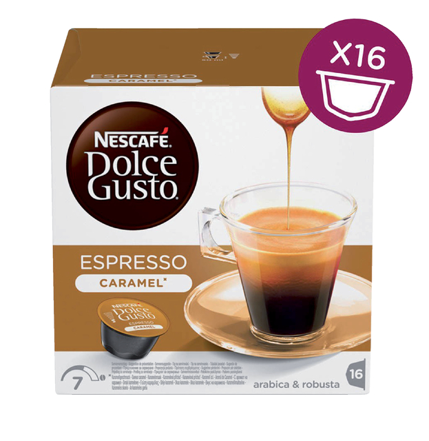 Dolce Gusto Espresso Caramel 16 cups