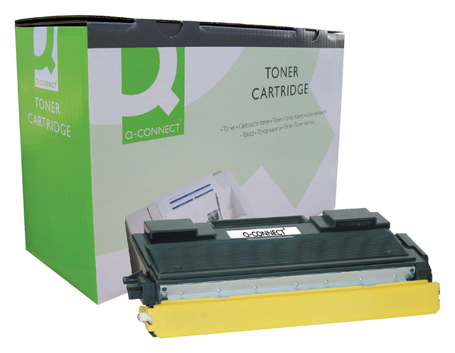 Q-Connect tonercartridge voor Brother printers 1000-9000 TN-4100 zwart