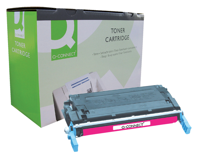 q-connect tonercartridges voor hp printers 600 serie 641a c9723a rood