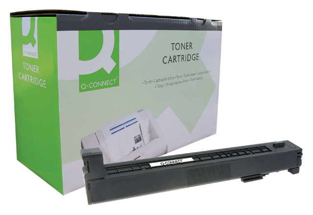 q-connect tonercartridges voor hp printers 600 serie 823a cb380a zwart