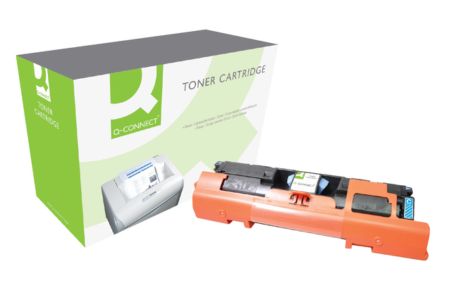 Q-Connect tonercartridges voor HP printers 100 serie 122A Q3961A blauw