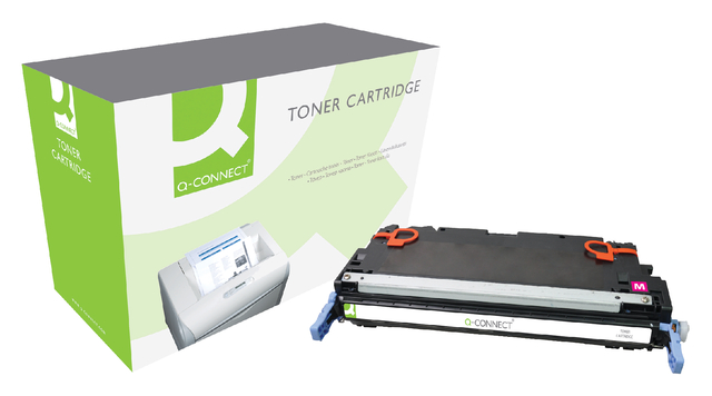 Q-Connect tonercartridges voor Canon printers 717 rood