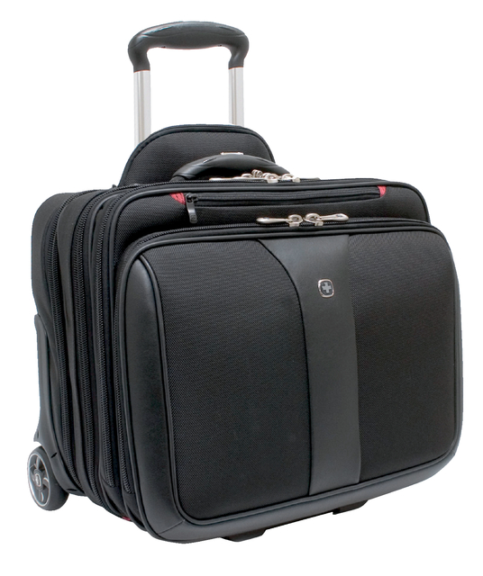 Laptop trolley Wenger Patriot 17inch zwart