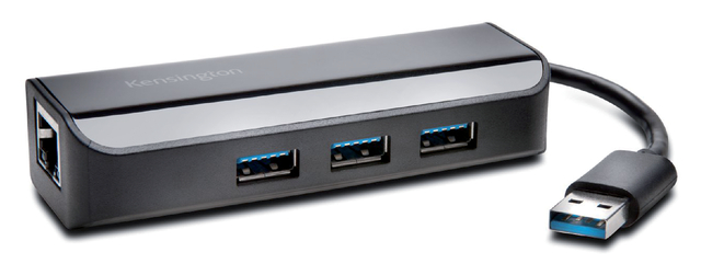 ethernet-adapter kensington usb 3.0 met hub