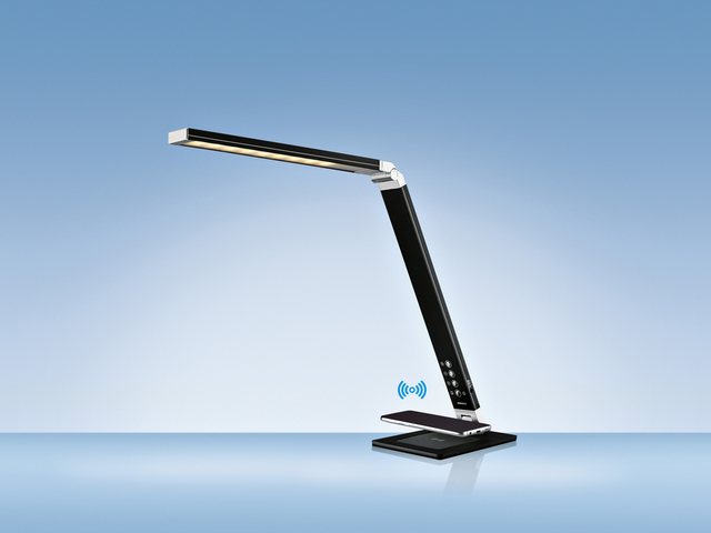 Bureaulamp Hansa ledlamp Magic zwart