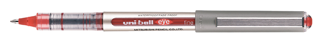 rollerpen Uni-Ball EyeFine rood 0.7mm rood