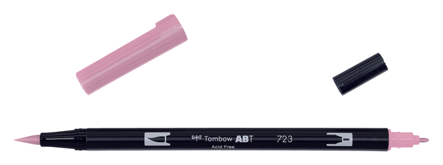 brushstift tombow abt-723 dual pink