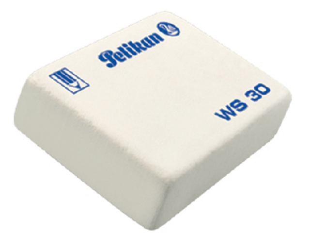 gum pelikan ws30 potlood zacht 37x30x9mm wit