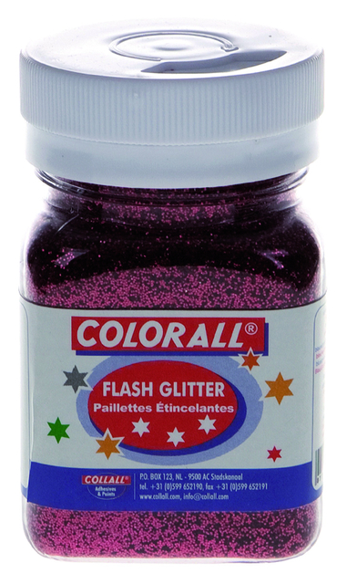 flash glitter colorall 150ml rood