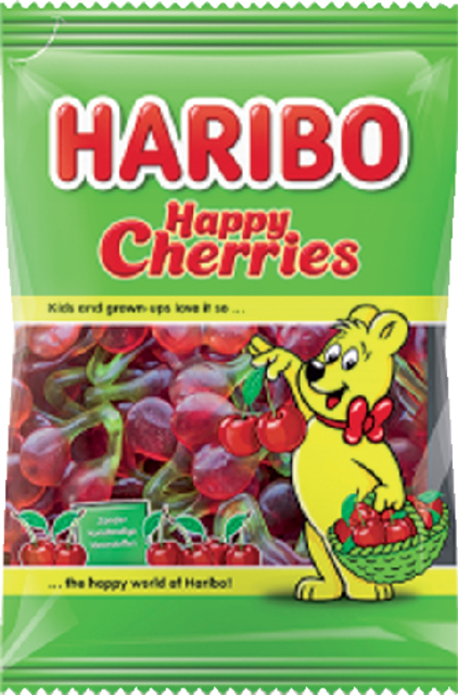 haribo happy cherries kersen 75gram