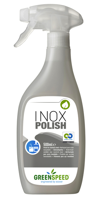 keukenreiniger greenspeed rvs inox polish 500ml