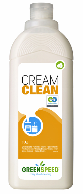 schuurmiddel greenspeed cream clean 1l