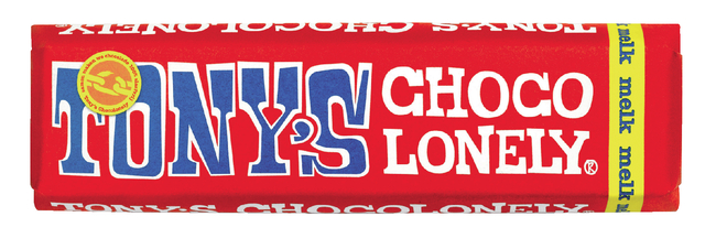 chocolade tony chocolonely melk 50gr