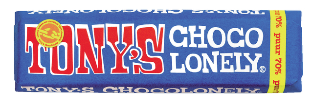 chocolade tony chocolonely puur 50gr