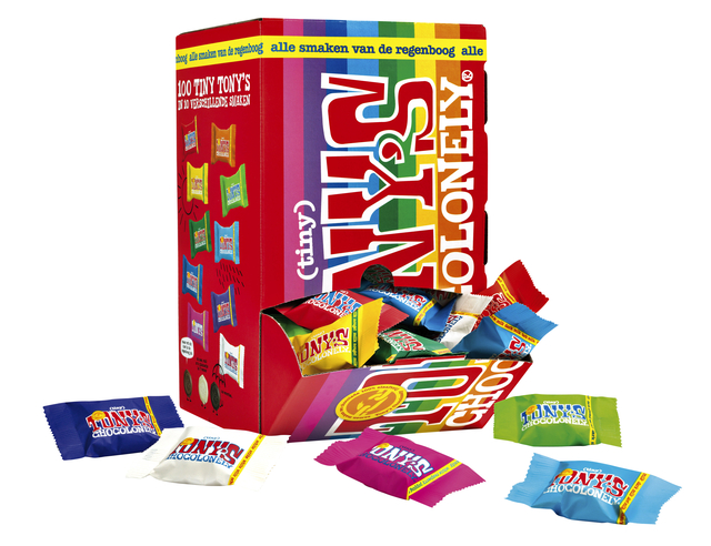 tony chocolonely tiny mix 900gr