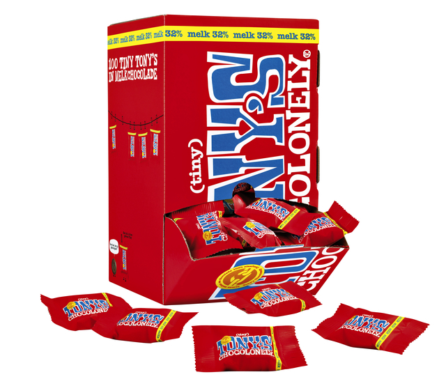 tony chocolonely tiny melk 900gr