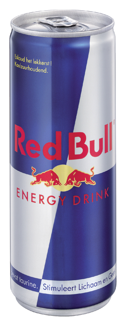 energy drank red bull blikje 025l