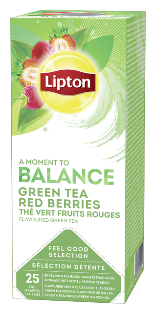 thee lipton balance rood fruit