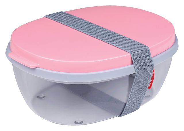 saladebox ellipse nordic roze